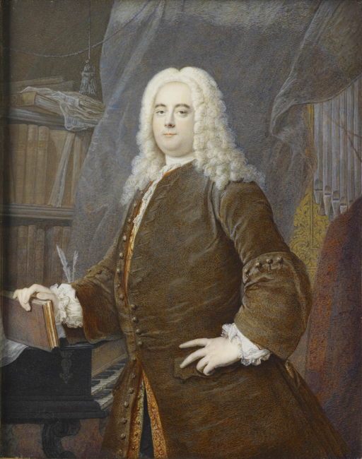 Georg Friedrich Händel: Gemälde von Georg Andreas Wolfgang nach Thomas Hudson / Royal Collection