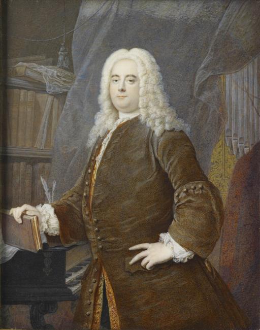 Georg Friedrich Händel: Gemälde von Georg Andreas Wolfgang nach Thomas Hudson / Royal Collection