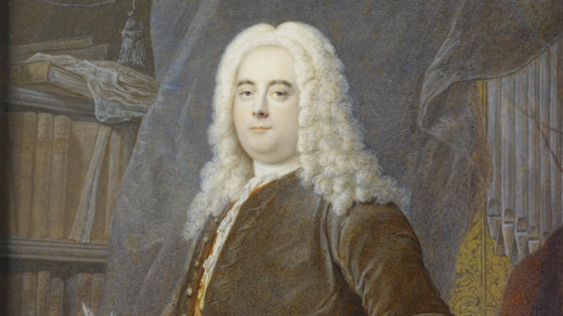 Handel: Painting by Georg Andreas Wolfgang (II) after Thomas Hudson