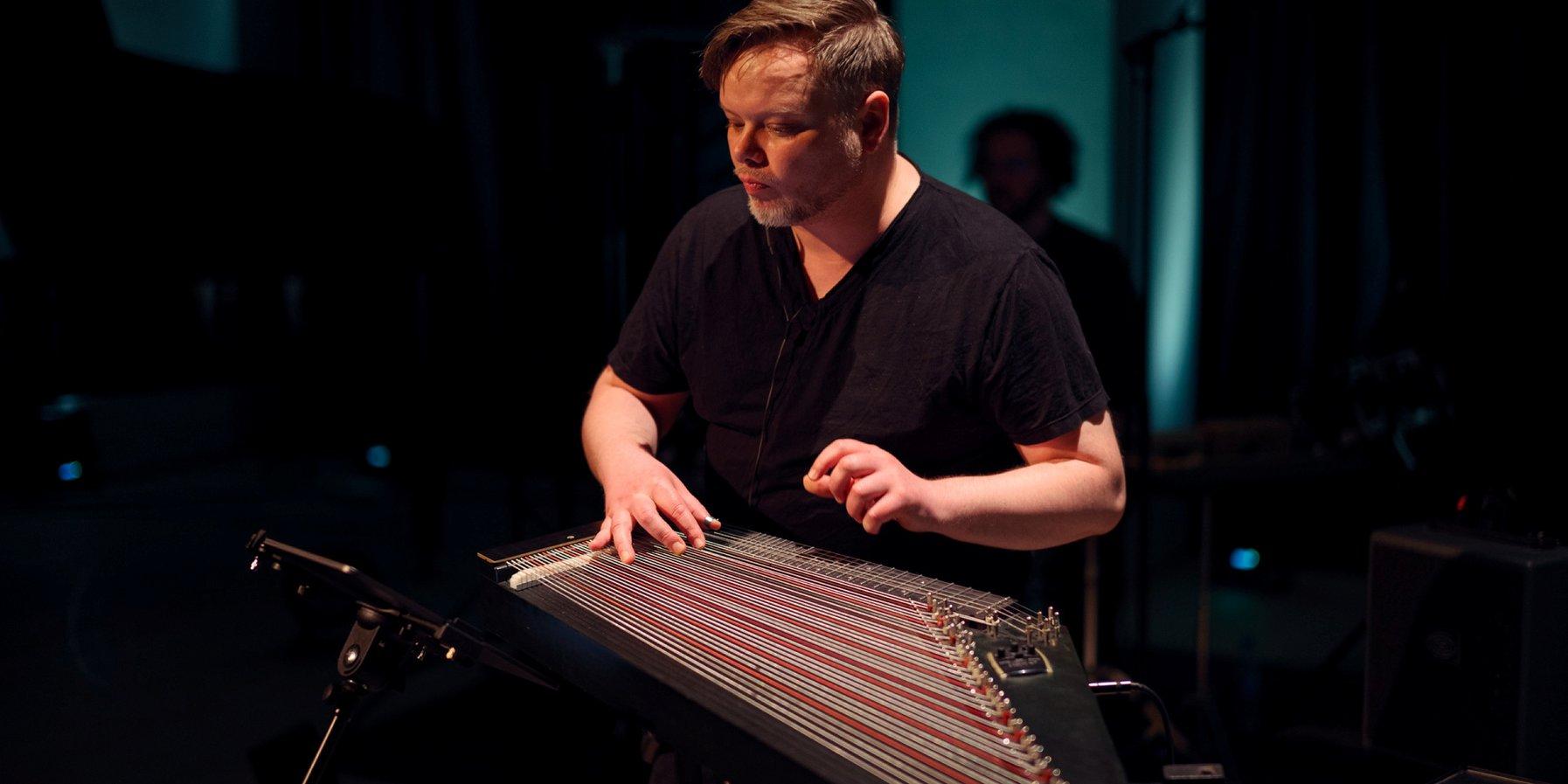 Komponist und Zither-Spieler Leopold Hurt