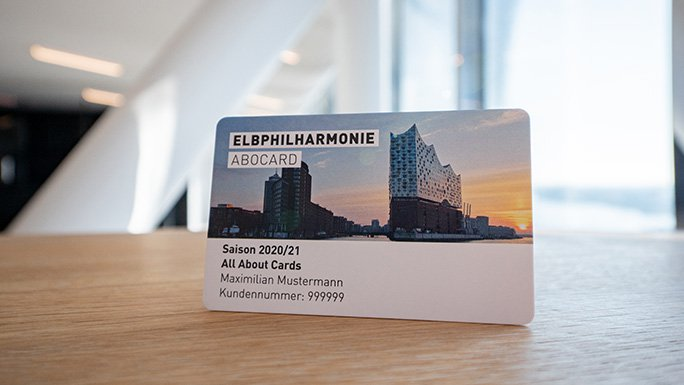 Elbphilharmonie Subscription Card