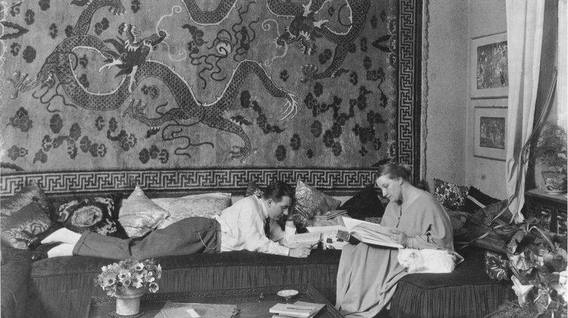Fritz Lang mit Thea von Harbou