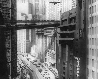 »Metropolis« / Stummfilm von Fritz Lang, 1927