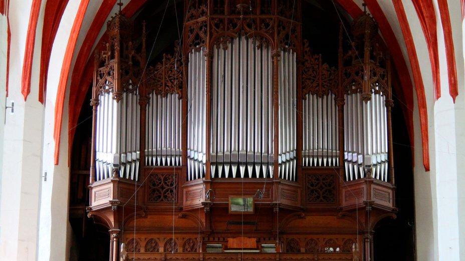 Orgel in der Leipziger Thomaskirche