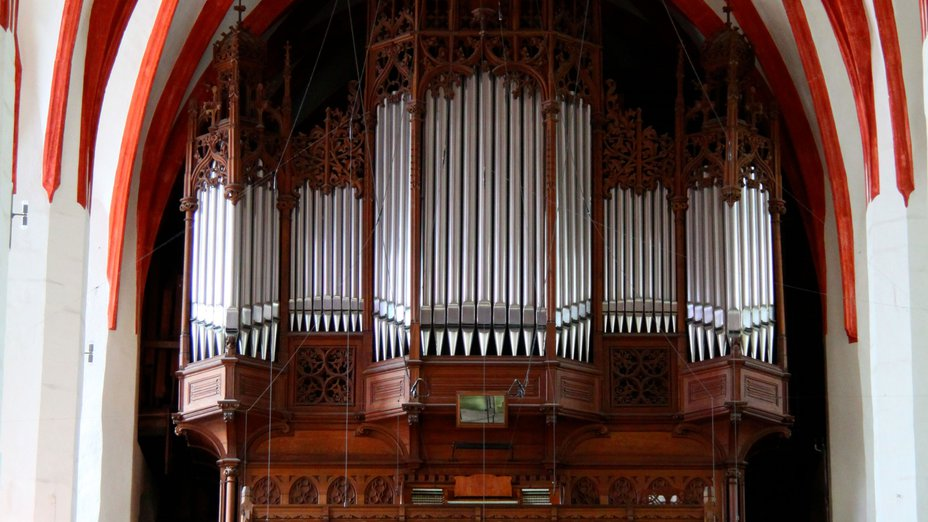 Organ in Leipzig's St Thomas Church