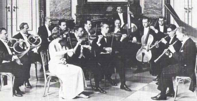 Concentus Musicus Wien mit Nikolaus Harnoncourt am Cello (1972)