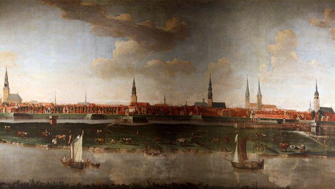 Hamburg im Jahr 1681