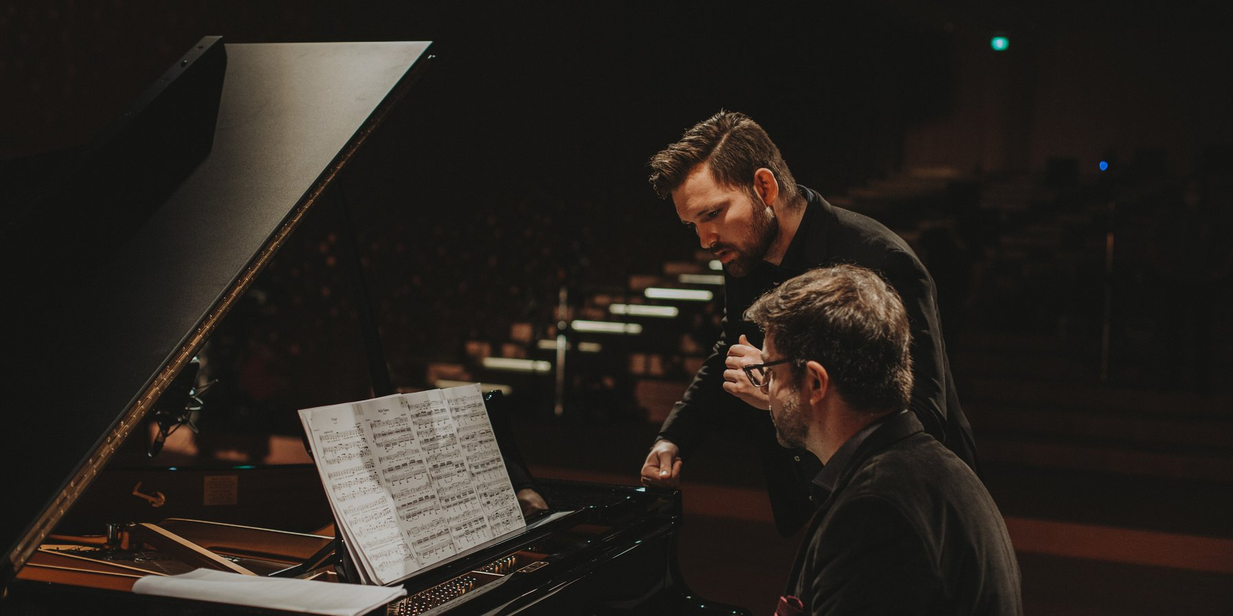 James Newby und Marcelo Amaral