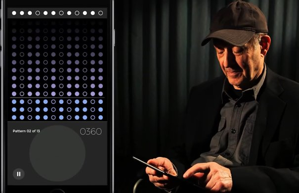 Steve Reich's »Clapping Music« App / Screenshot