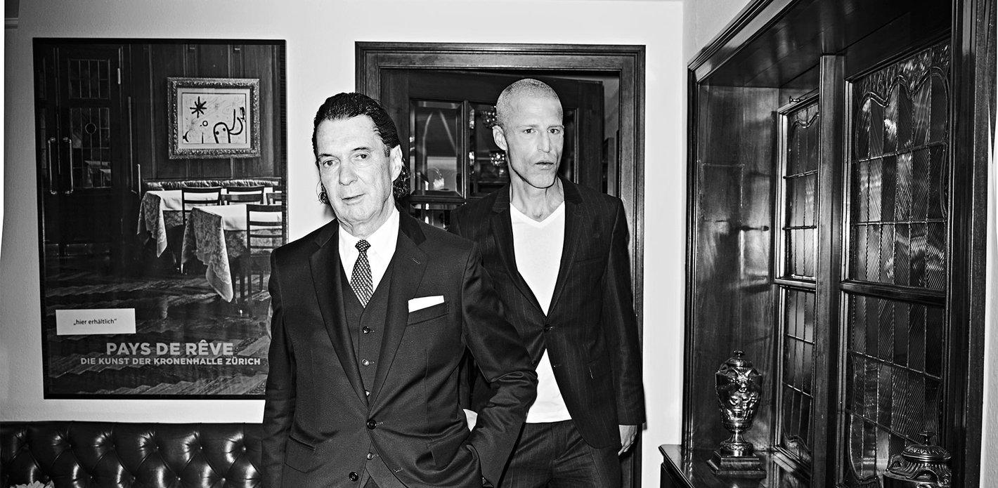 Martin Suter und Benjamin / Stuckrad-Barre