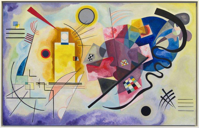 Wassily Kandinsky: Jaune, Rouge, Bleu