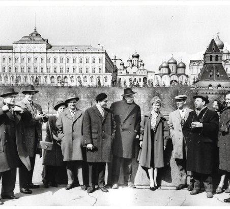 Tournee in Russland, 1961