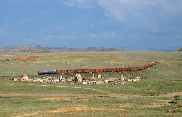 Steppe in Kasachstan