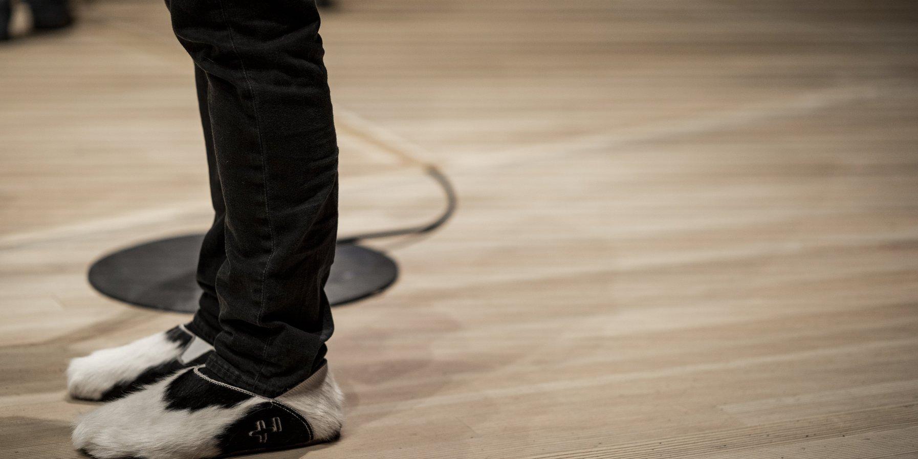 Solist's shoes