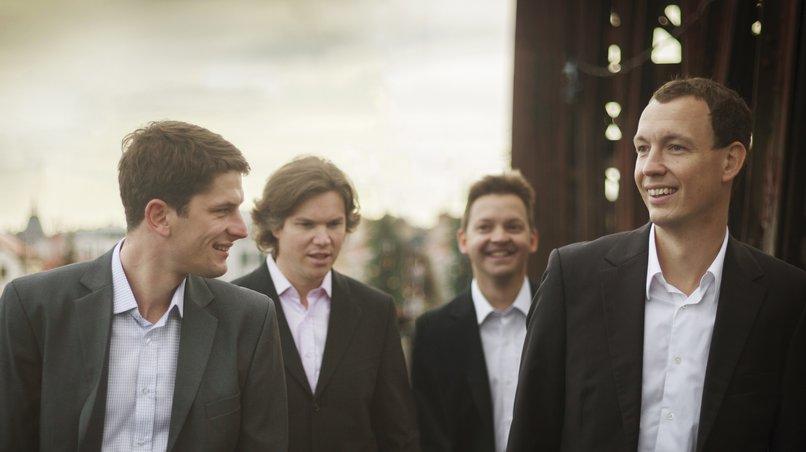 Spielt gut, isst gut: Das Bennewitz Quartet aus Prag