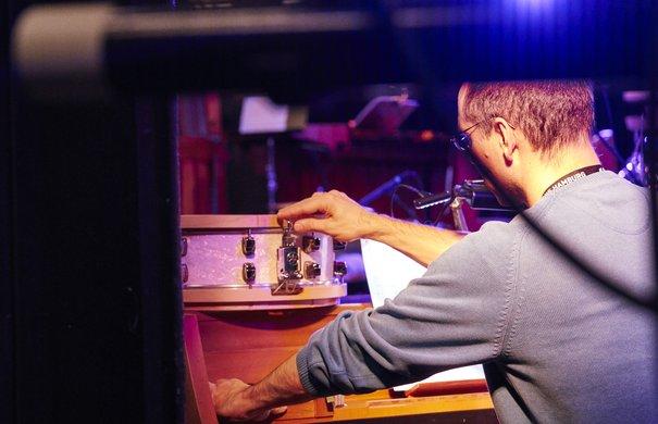 Proben: Harry Partch / Ensemble Musikfabrik