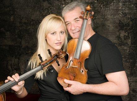 Amanda Forsyth & Pinchas Zukerman