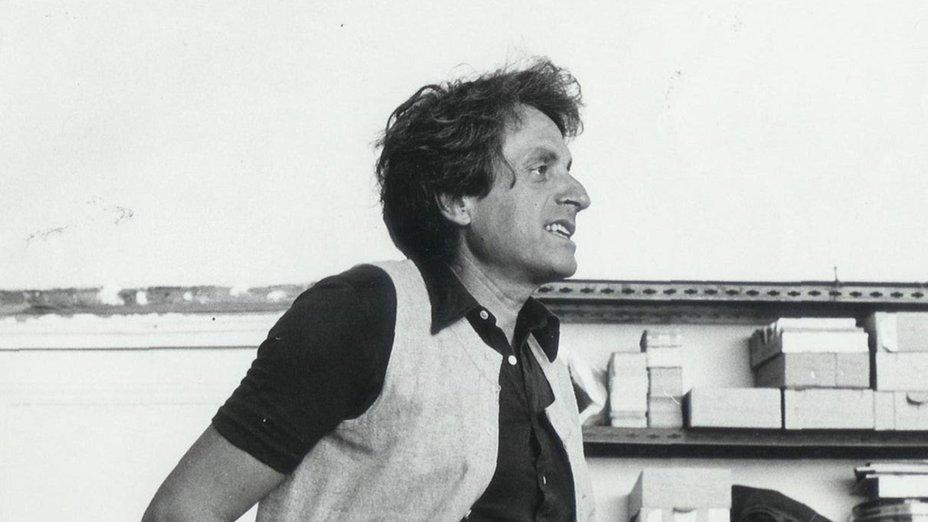 Iannis Xenakis in seinem Studio, Paris um 1970