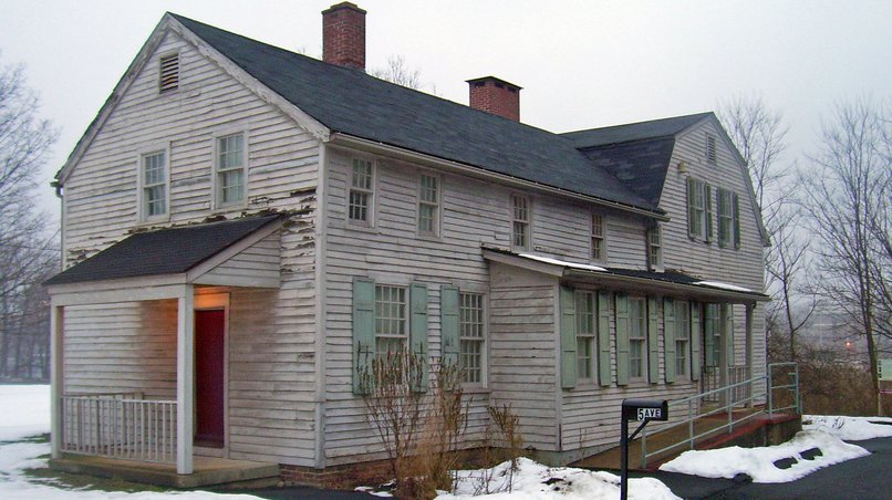 Ives' Wohnhaus in Danbury, Connecticut
