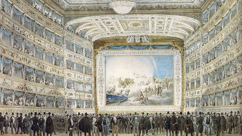 Teatro La Fenice 1837 / Museo Correr