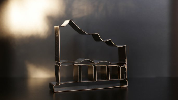 Keksausstecher in Elbphilharmonie-Form