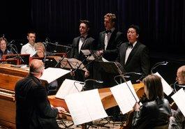 Sciarrino: »Lohengrin« /  Shan Huang / Rupert Grössinger / Alexander Voronov