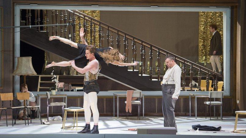 Barbara Hannigan als »Lulu« an der Hamburgischen Staatsoper