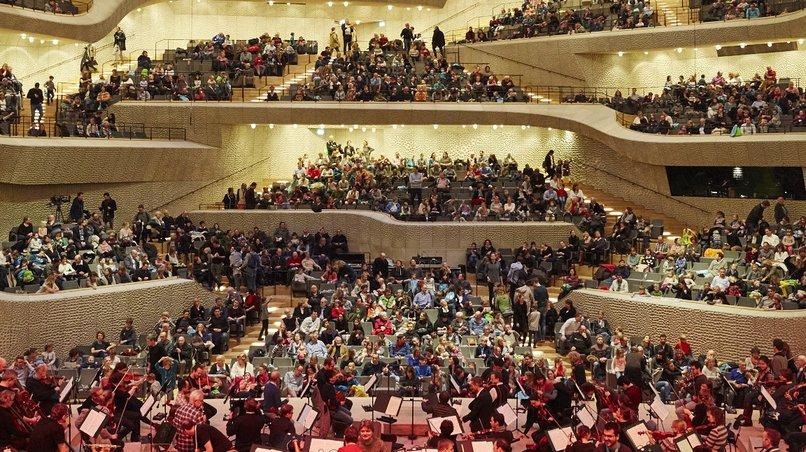 Familientag / Probe NDR Elbphilharmonie Orchester
