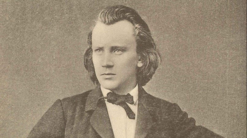 Johannes Brahms (ca. 1865)