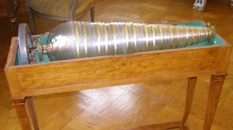 Glass Harmonica in the Museum Unterlinden, Colmar