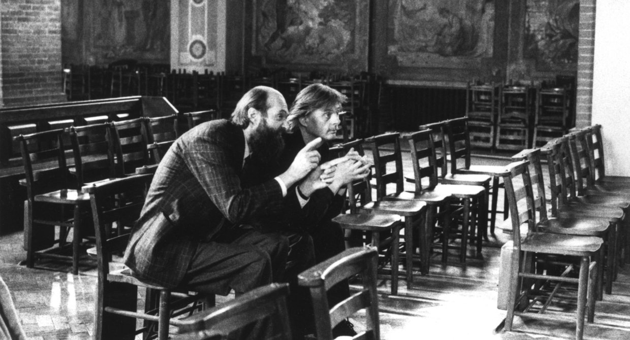 Arvo Pärt and Manfred Eicher