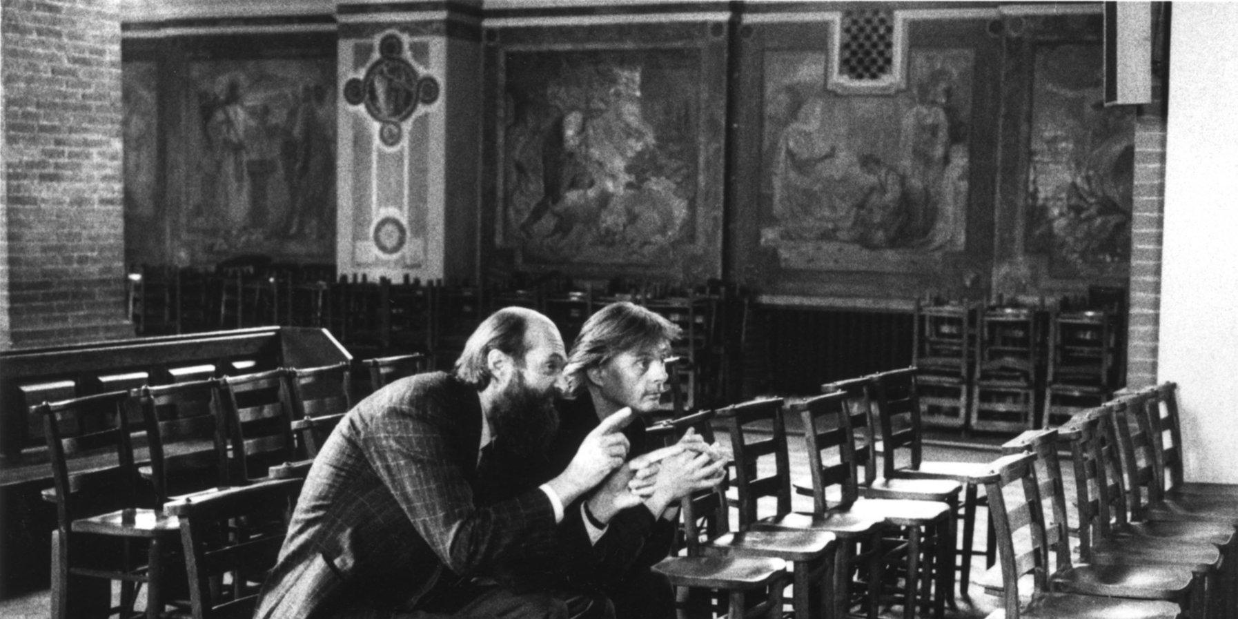Arvo Pärt und Manfred Eicher