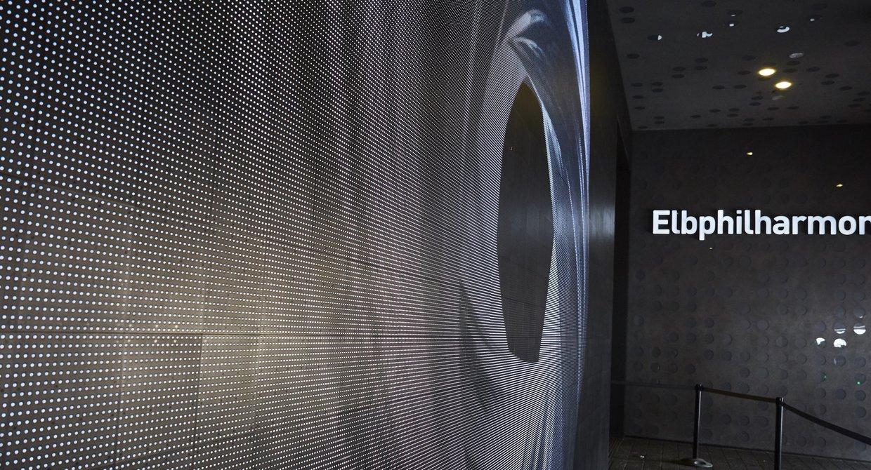 Elbphilharmonie Media Wall