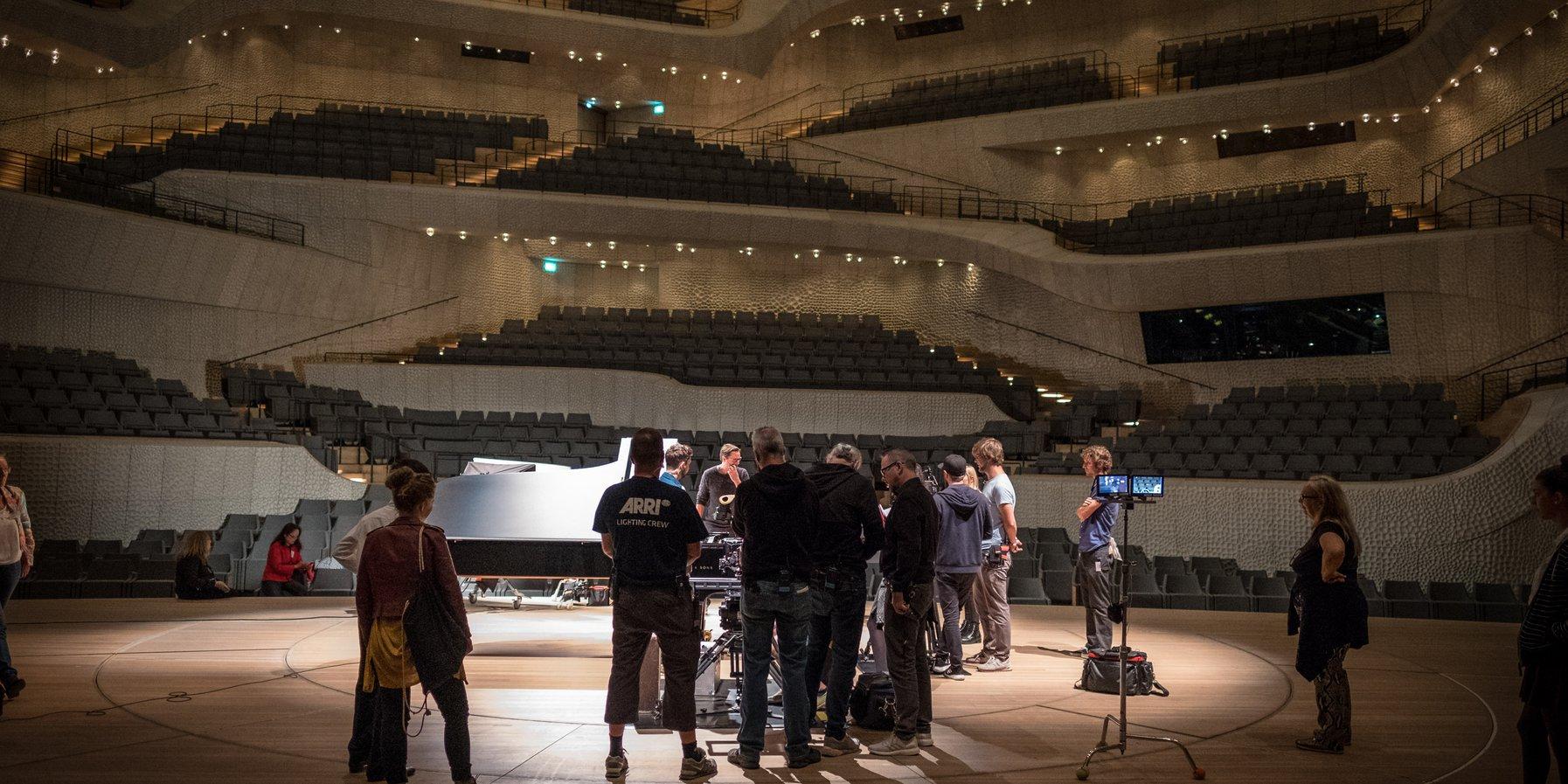 Pfefferkörner in der Elbphilharmonie