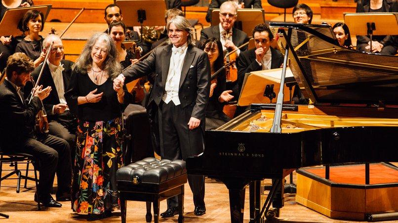 Symphoniker Hamburg / Martha Argerich / Ion Marin