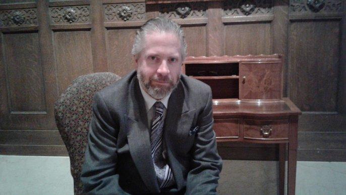 Der Komponist und Organist Andrew Ager