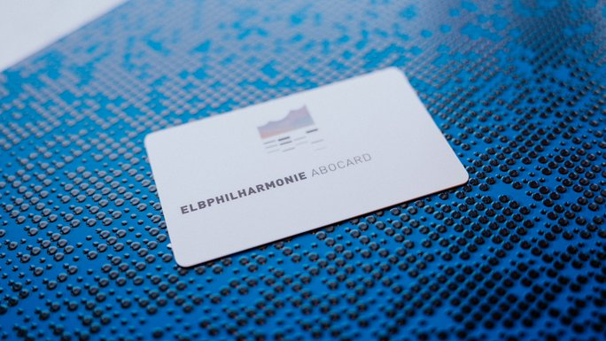Elbphilharmonie Subscription Card