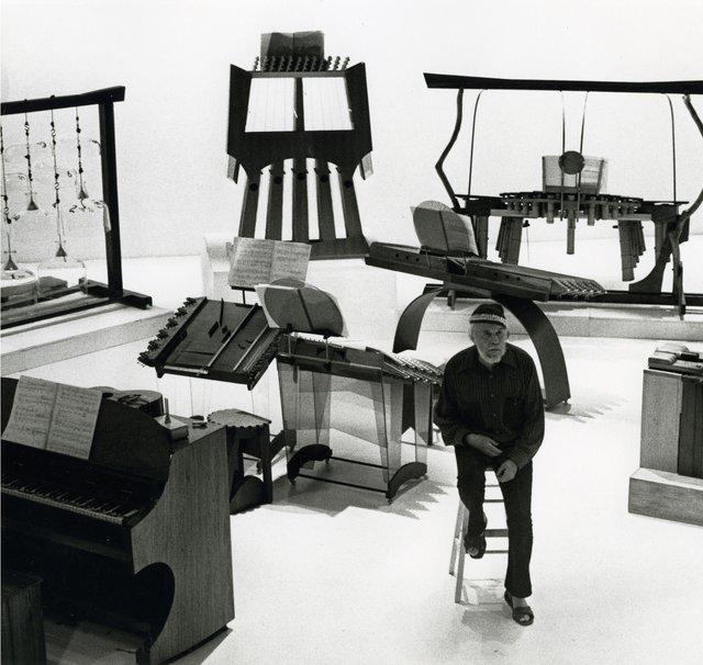 Harry Partch Instrumente