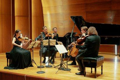 Elbphilharmonie Sessions: Szymanowski Quartet & Michail Lifits