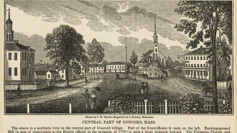 Concord / Mass. (USA) / um 1840