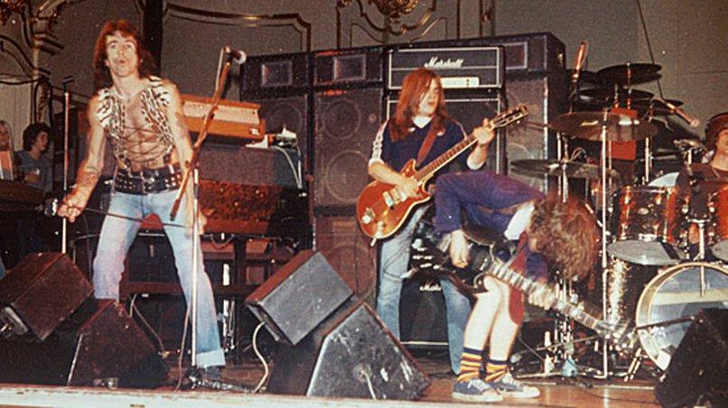 AC/DC 1976 in der Laeiszhalle