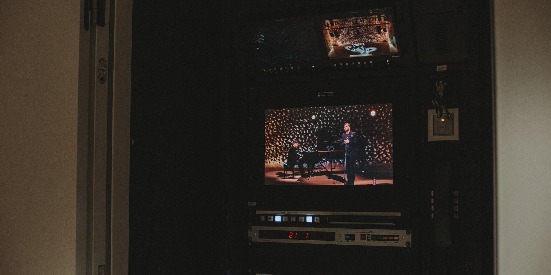 Aufzeichnung Konzert mit James Newby
