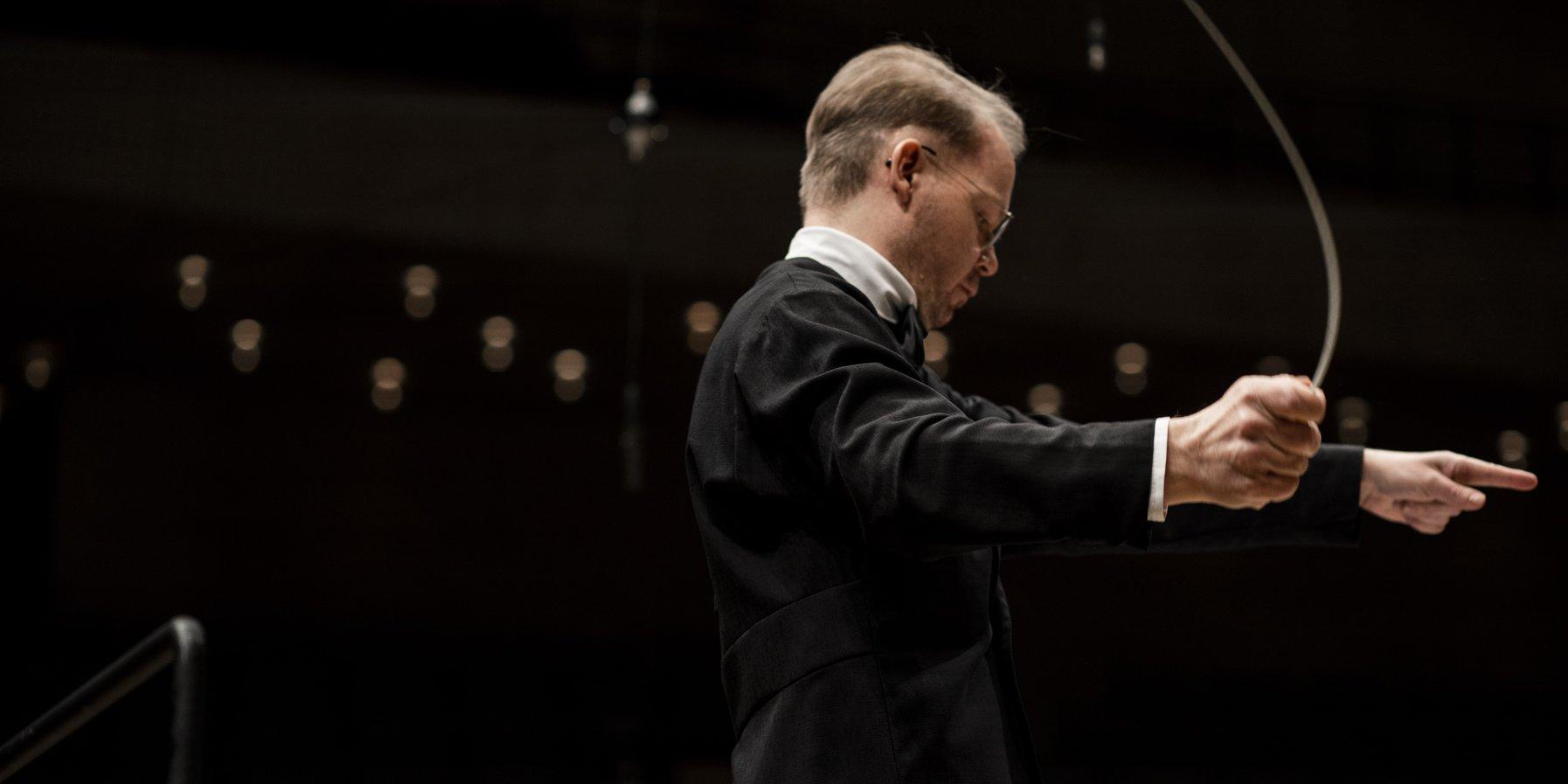 Konzertmeister und Dirigent Jaakko Kuusisto