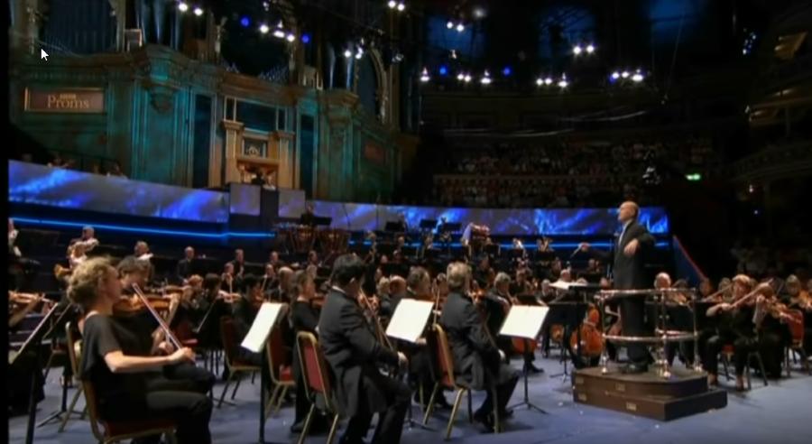 Saint-Saens: Orgelsinfonie / Thierry Escaich / Paavo Järvi (BBC Proms)