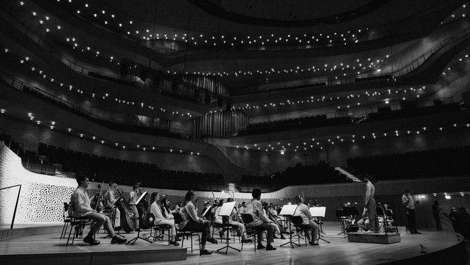 Himmelblau / Junge Norddeutsche Philharmonie im Großen Saal