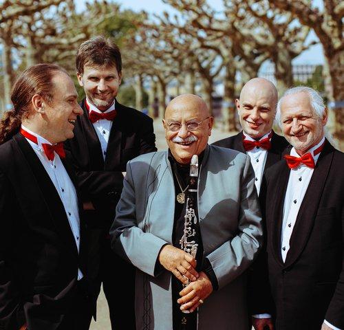 Giora Feidman und das Rastrelli Cello Quartett
