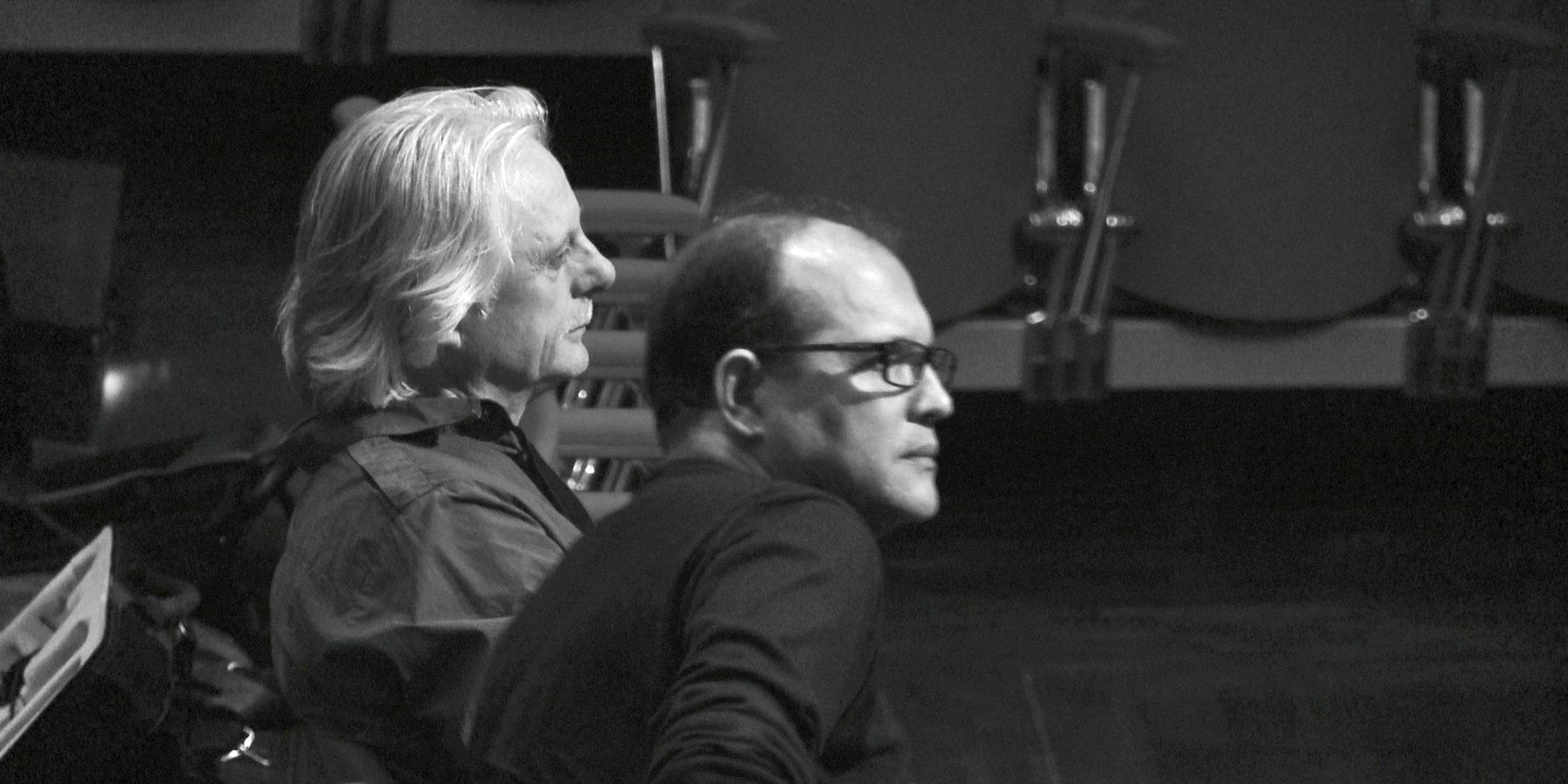 Manfred Eicher und Anouar Brahem