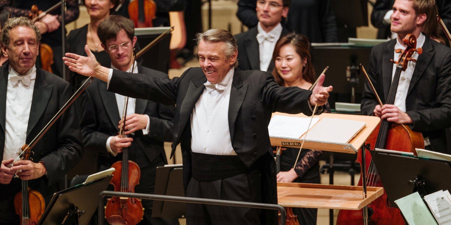 Mariss Jansons at the Elbphilharmonie on 13 January 2018