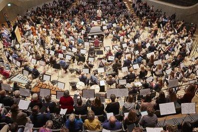 Das größte Orchester der Stadt