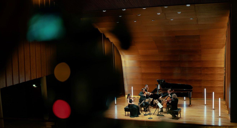 Elbphilharmonie Session im Kleinen Saal der Laeiszhalle